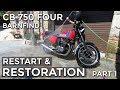 Honda Cb 750 Four Restoration   Part 1 (timelapse)