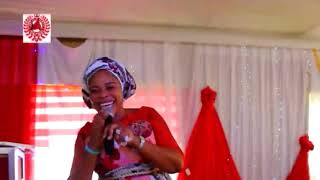 Tope Alabi performs 'MIMO' at THE CITY OF TALENTS recently.