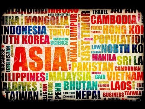 Asia - List of Asian countries, with their factual and estimated gross domestic product data