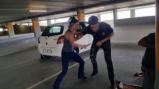 IVANA RIES - KRAV MAGA - ATTACK IN PARKING GARAGE