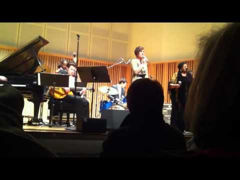 Sarah Gazarek and Carmen Bradford perform You Are My Sunshine