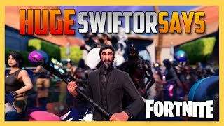 HUGE Swiftor Says Madness in Fortnite! 70+ Players!