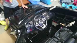 電動乗用ラジコンカー GLS63 AMG ①