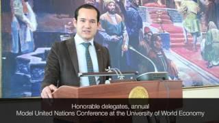 Your Dias | Davlat Umarov | UWED MUN 2016