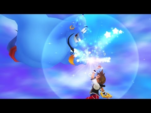 Kingdom Hearts HD 2.5 Remix: Aladdin's Genie Helps You Kick Ass - TGS 2014