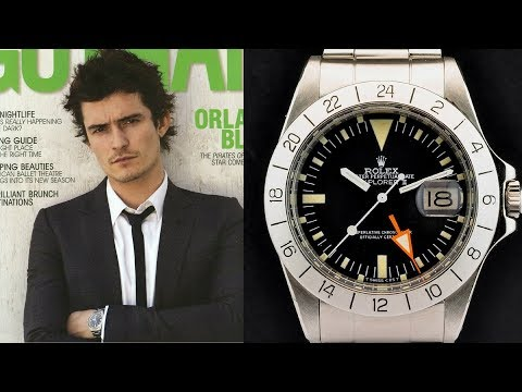 Orlando Bloom's Stolen? Watch Collection  COLLECTION