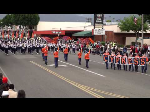 Cypress HS - Old Ironsides - 2013 Arcadia Band Review