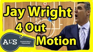 Jay Wright 4 Out Motion Basketball Offense