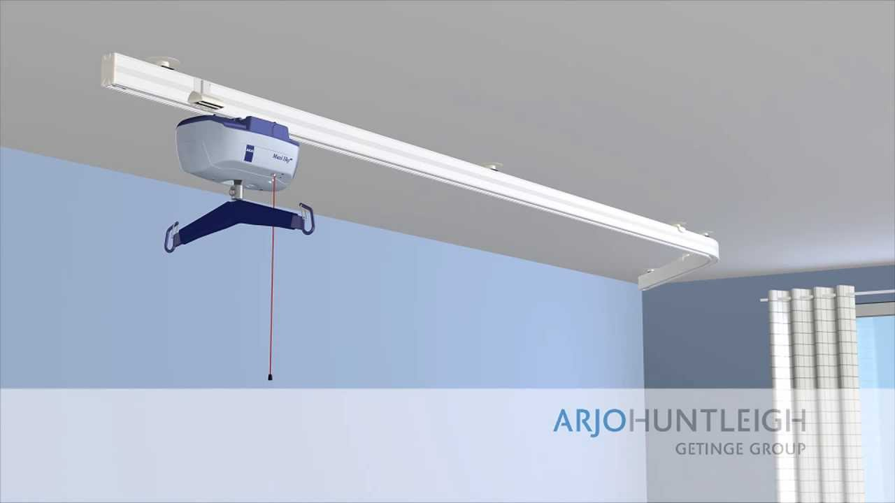 Installing Ceiling Track Hoists Video Guide Youtube
