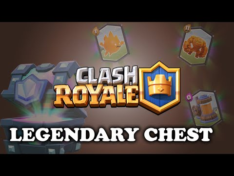Clash Royale | New Legendary and Epic Chests