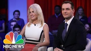 Donald Trump And Hillary Clinton Aides Tussle Over Campaign At Harvard | NBC News