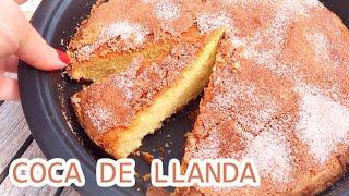 Recette très simple d'une spécialité de Valencia qui s'appelle Coca De Llanda ♡ A la base, c'est un gâtau qui doit cuire dans un moule rectangulaire (un peu ...