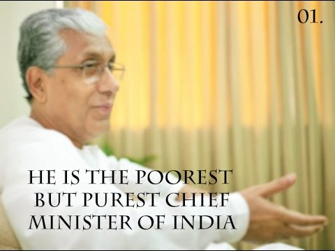 INDIA'S POOREST CHIEF MINISTER - Mr Manik Sarkar...!!