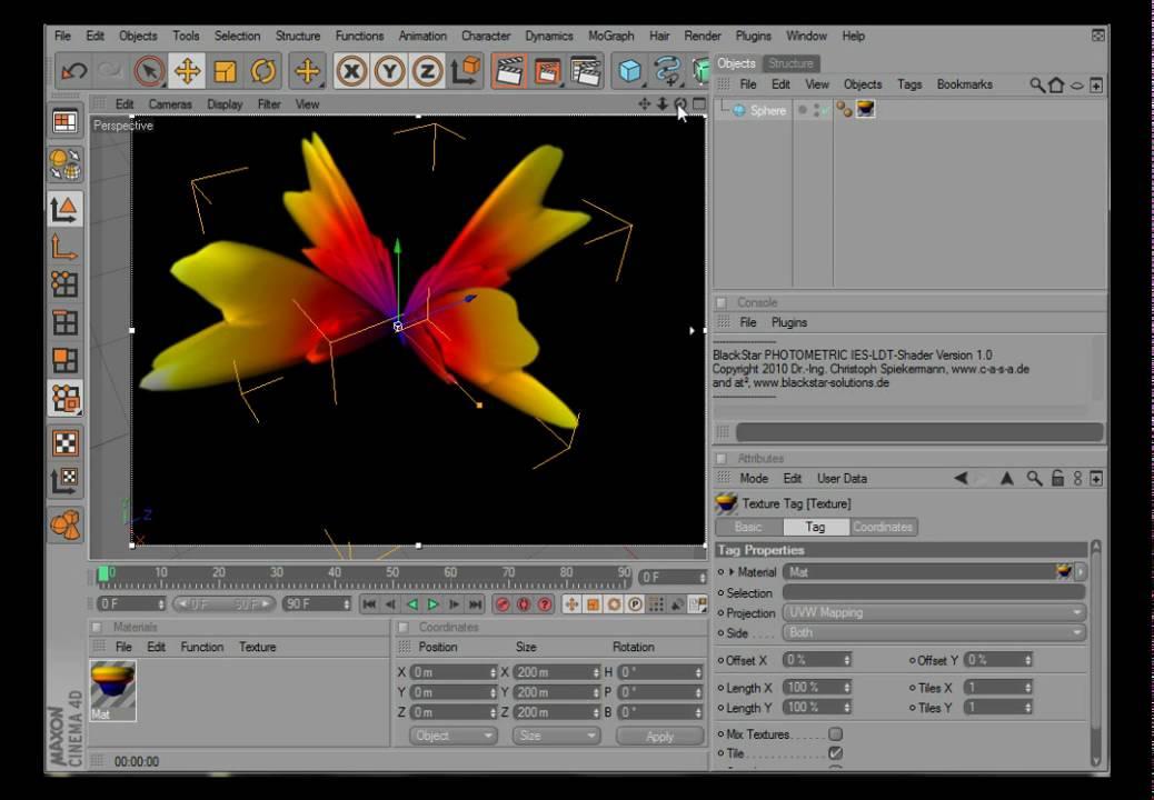 Photometric IES & LDT - blackstar - custom plugins for CINEMA 4D