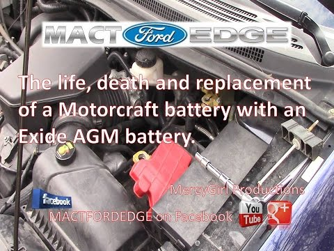 The Life Death And Replacement Of A Motorcraft Battery With An AGM Battery