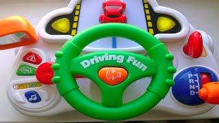 Школа вождения - развивающие игрушки для детей. Автотренажер