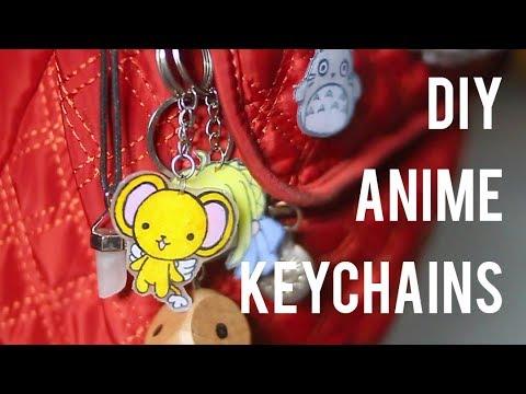 DIY Anime Keychains or Badges - EASY!!