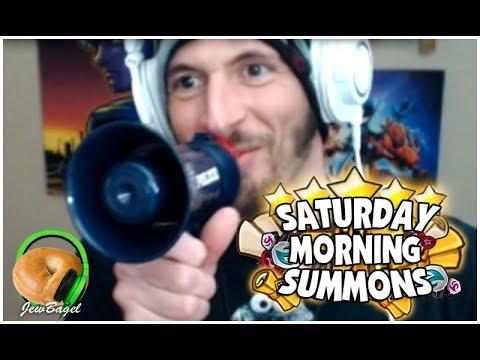 SUMMONERS WAR : SATURDAY MORNING SUMMONS! (5/12/18)