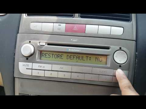 Fiat music player restore