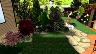 Сад для друзей(Этот сад возле дома, в котором живет семья, любящая собирать у себя друзей. Попариться в бане, пожарить шашлы..., 2014-11-16T00:15:59.000Z)