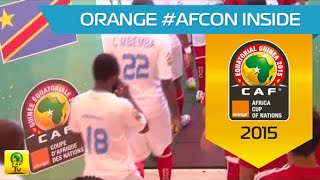 In The Tunnel Before Dr Congo Vs. Eq. Guinea - Orange Africa Cup Of Nations, Equ