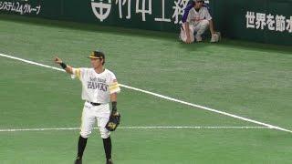 ソフトバンク 川島慶三、ユーティリティープレーヤーなショートとファーストの守備 2016.9.30