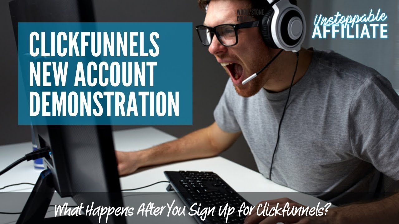 [Clickfunnels Demo] What it looks like after you signup?
