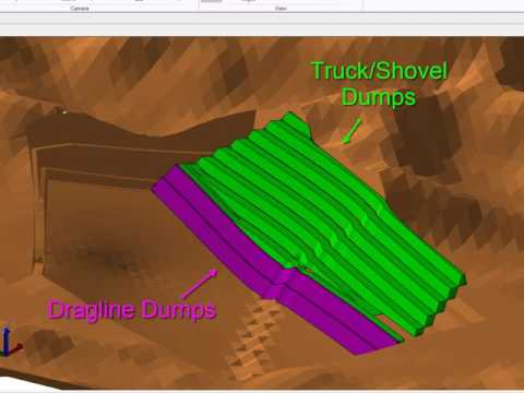 Open Cut Coal Mine Planning & Scheduling Software