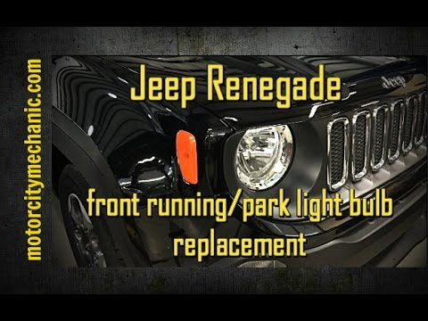 Jeep Renegade Front Running Park Light Side Marker Bulb