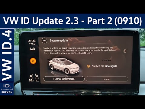Download VW ID Software Update 2.3 - Part 2 / 0910