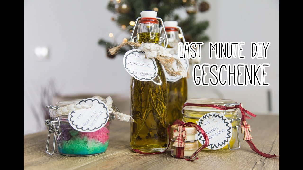 last minute diy geschenke f r weihnachten geburtstag etc youtube. Black Bedroom Furniture Sets. Home Design Ideas