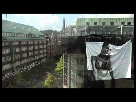 Calvin Klein Giant Poster Hamburg