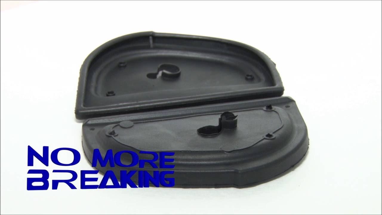 MotorKing Mercedes Benz Mirror Rubber Gasket Repair Kit - YouTube