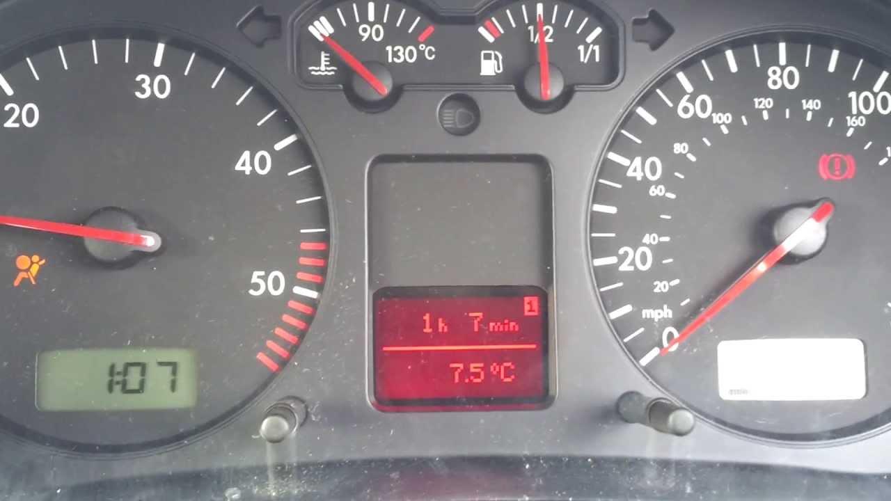 mk4 golf ignition switch problem