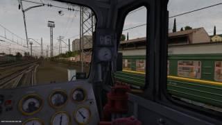 """Сценарий """"Магистраль"""" на ВЛ10 Trainz Simulator 12"""