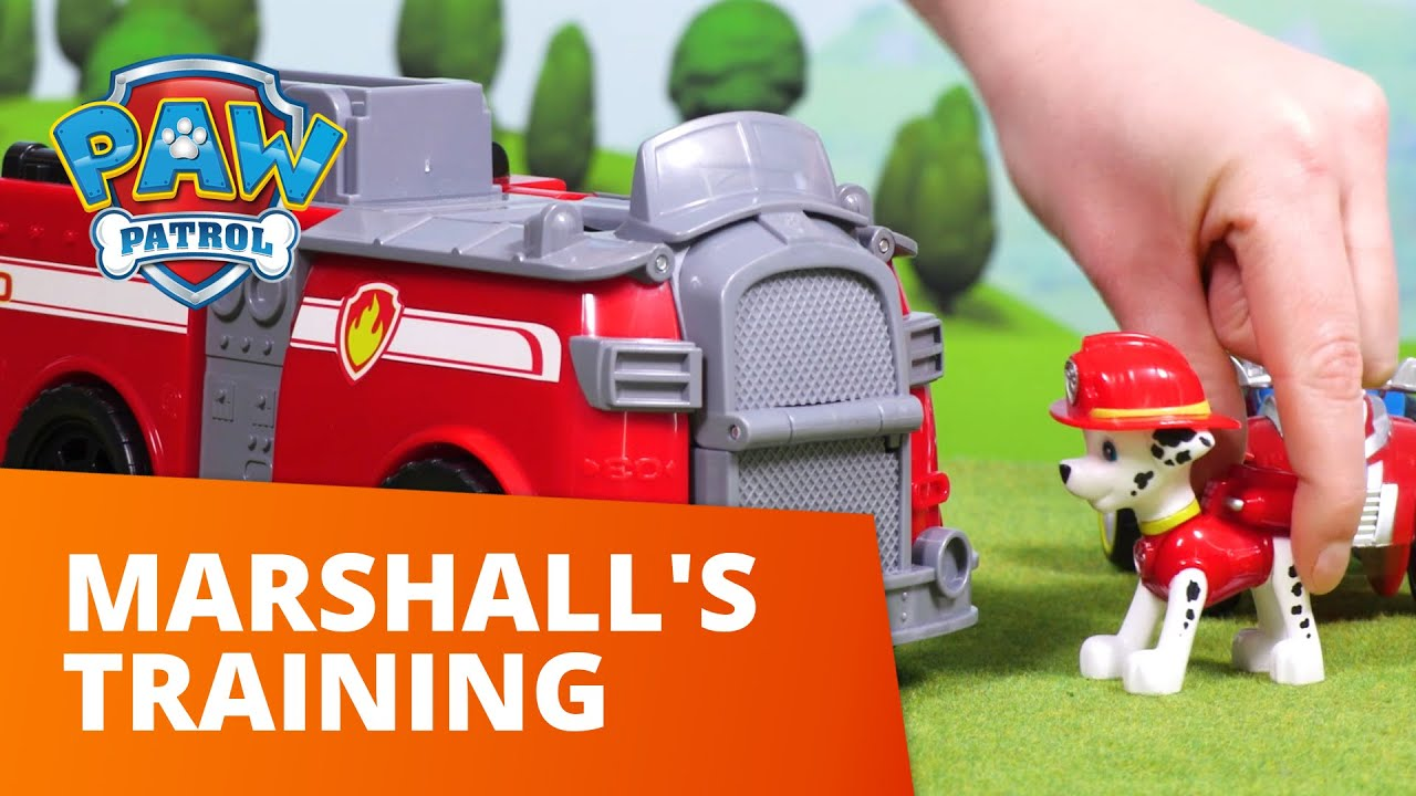 PAW Patrol | Marshall's Training | Toy Episode