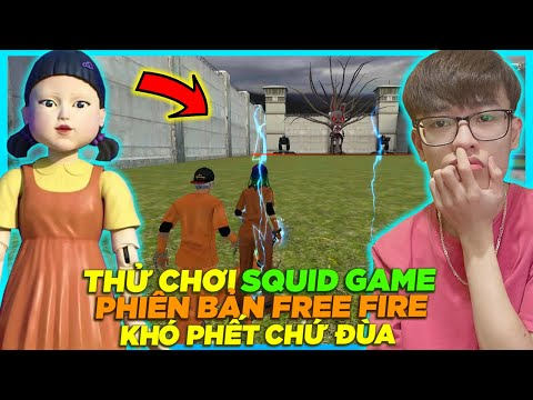 HÙNG AKIRA THỬ THÁCH TRÒ CHƠI CON MỰC SQUID GAME CÙNG BÚP BÊ TRONG FREE FIRE 1 GIÂY BẮN 30 NGƯỜI