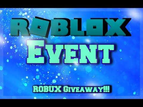 ROBUX GIVEAWAY DISCORD EVENT!!! | Roblox