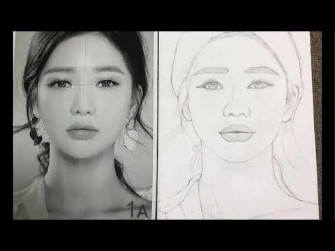 Drawing AZ, Học vẽ chân dung online, bài 181