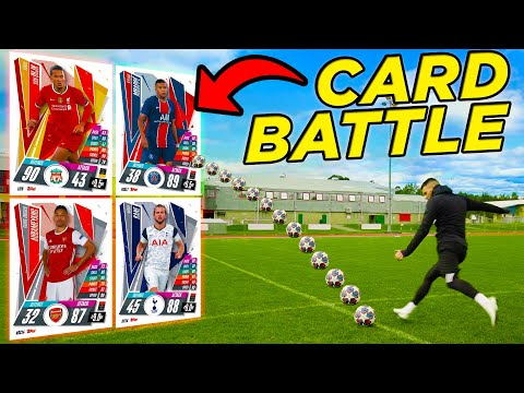 BILLY WINGROVE VS JEREMY LYNCH | GIANT CARDS EPIC SHOOT-OUT BATTLE! 💥 Thumbnail
