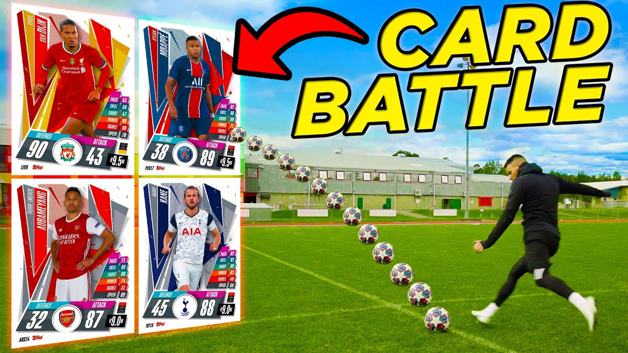 BILLY WINGROVE VS JEREMY LYNCH | GIANT CARDS EPIC SHOOT-OUT BATTLE! 💥