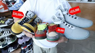 THESE ARE THE MOST EXPENSIVE & RAREST SNEAKERS IN THE WORLD!