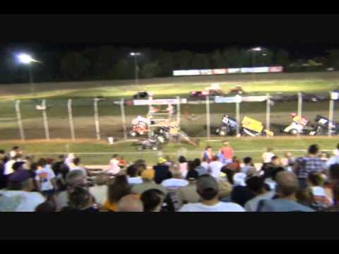 ASCS Midwest And Warrior Region Racing At U S 36 Raceway-A-Main.wmv