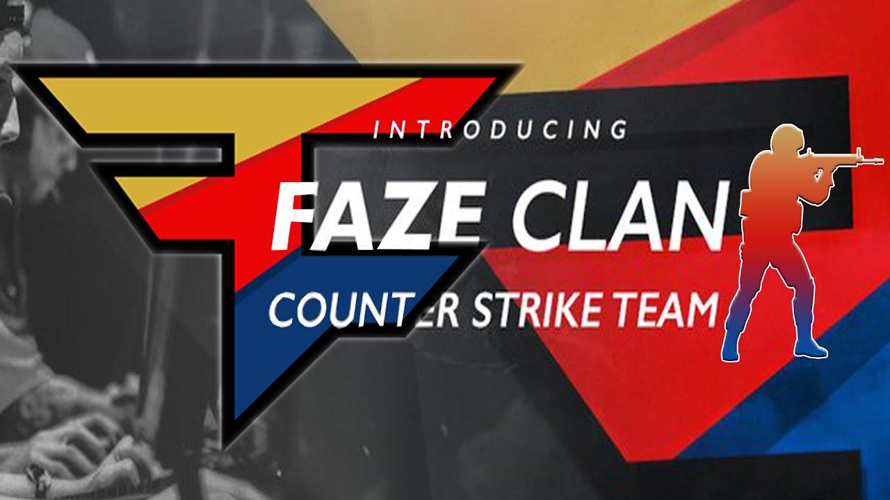 New faze members faze clan cs go team revealed youtube