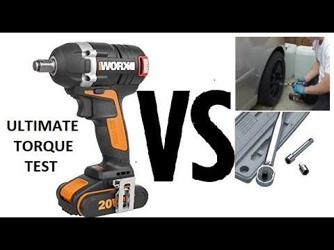 Worx Wx279 Impact Wrench Vs Torque