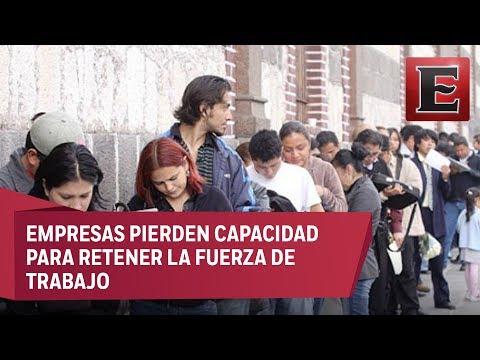 Radiografia del desempleo en México