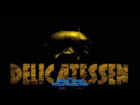 Delicatessen (1991) title sequence