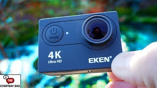 Eken H9S! A $50 4K Action Camera?  Reviewing the Cheapest! [4K]