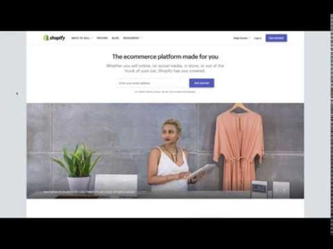 Shopify Tutorial For Beginners   Start To Finish How To Create An Online Shopify Store 2019   YouTub thumbnail