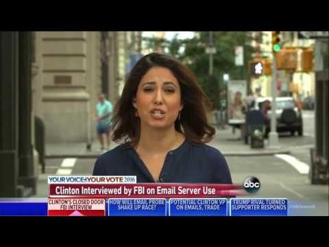 ABC News Even Hillary Clinton Supporters Don't Trust Her